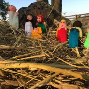 Finger puppets – Nativity Set