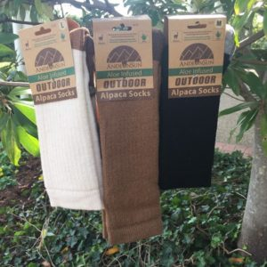 Outdoor Alpaca Crew Socks