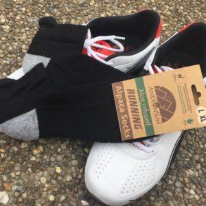 Alpaca Cushioned Tab Running Socks