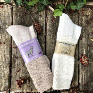 New! Alpaca Therapeutic Socks