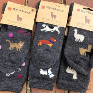 Alpaca Casual Print Socks